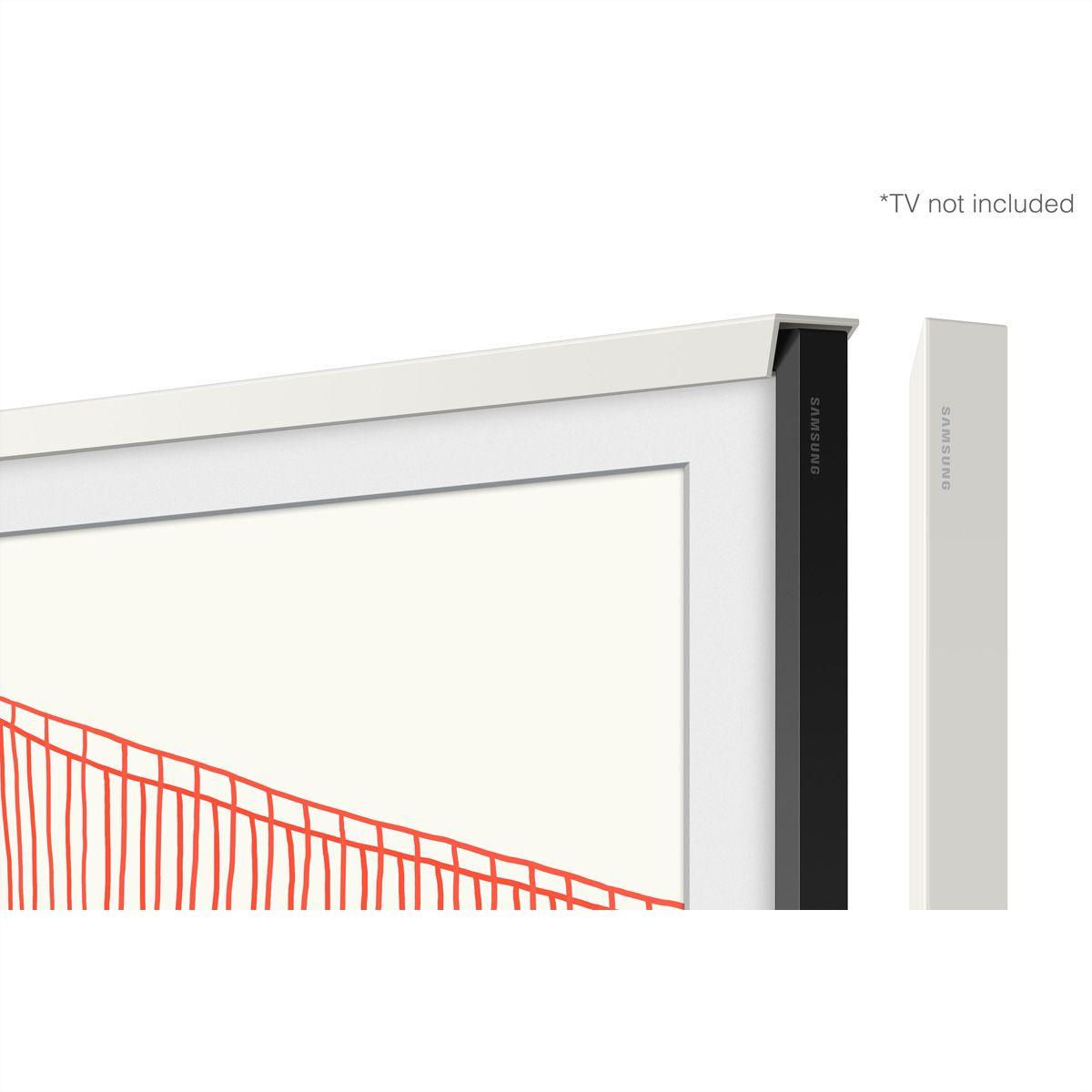 """Samsung Frame Wechselrahmen 5.0 55"""" Chamfer White"""