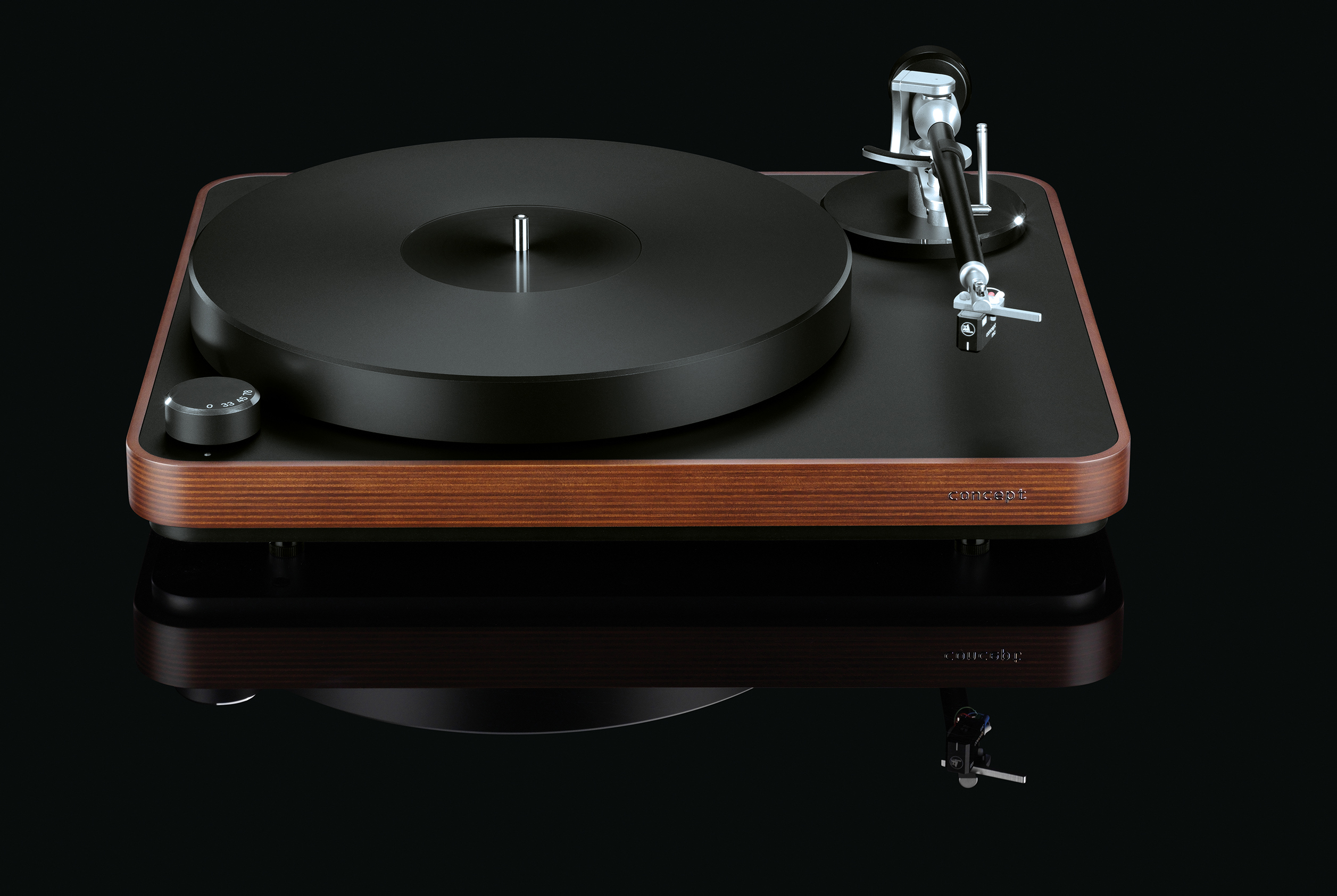 clearaudio Concept Laufwerk / Concept Tonearm / Concept MC Tonabnehmer