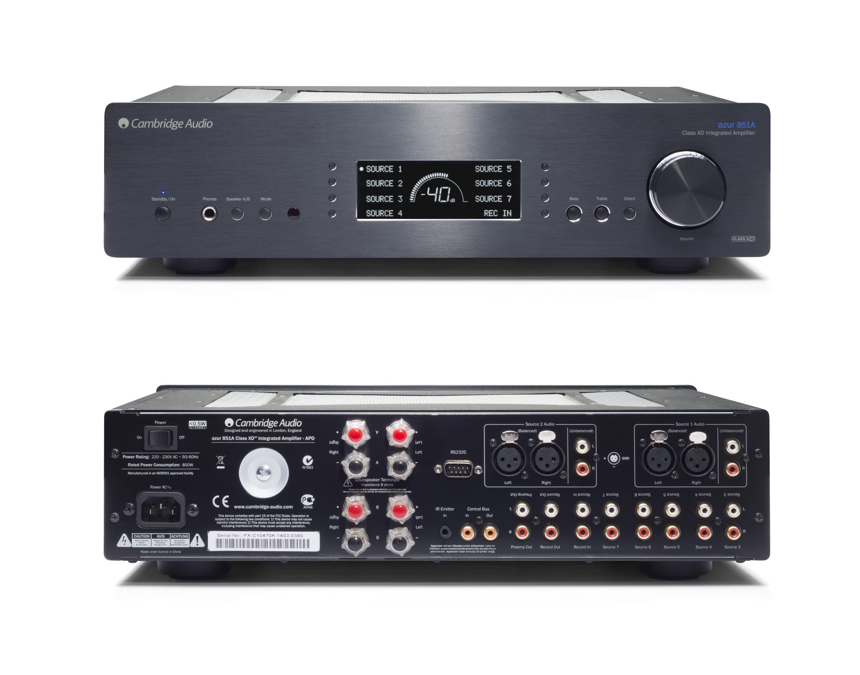 Cambridge Audio Azur 851 A
