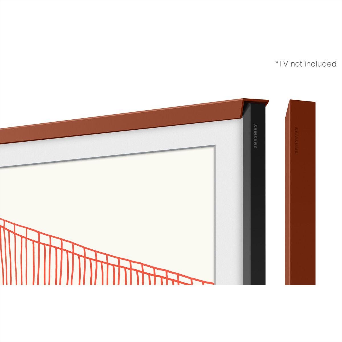 """Samsung Frame Wechselrahmen 5.0 65"""" Chamfer Terracotta"""